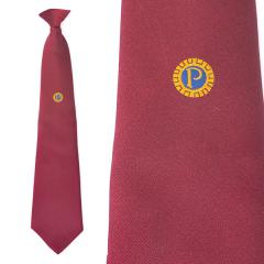 Members' Tie CLIP-ON - Maroon