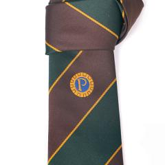 Members' Tie Style 1 - Green and Brown