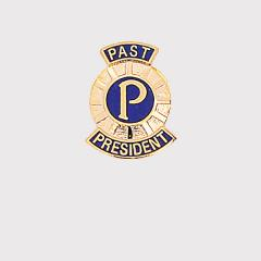 Past President Lapel Badge - Gold