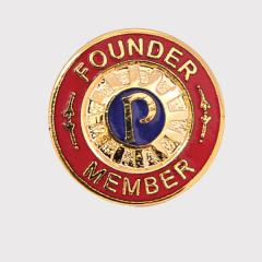 Founder Member Lapel Badge