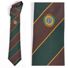 Past Chairman's Tie Style 1A - Green and Brown